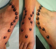 anklet by SimplyTattoo