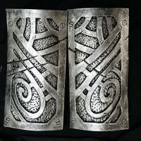 WIP Skyrim Steel Nordic Gauntlets by Lolilith