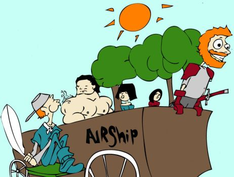 An Airship? by the14thgod