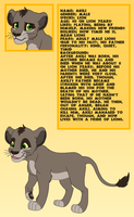 Akili Reference Sheet 2013 by Runya-Isamu