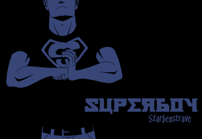 Superboy by AnArtistCalledRed