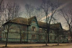 old houses 1 by Anti-Pati-ya
