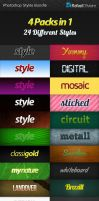 Photoshop Styles Bundle by Rafael-Olivra