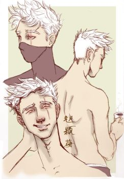 Clean Cut Kakashi by ZhaoLuna