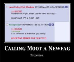 Calling Moot a Newfag by Rosemary-T