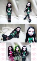MH: Persephone Morcelle -doll- by KPenDragon
