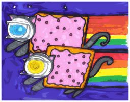Space+poptarts by Danielle-chan