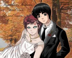 wedding LeeGaara 1 by Gaara-x-Lee-Club