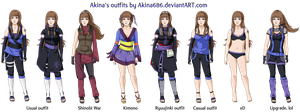 Outfits Autumn2012 by AkinaSilver