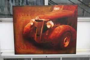 Rusty Truck Canvas by Tony231