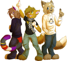 THE TRIO AGAIN~ - MC - by ScottishPeppers