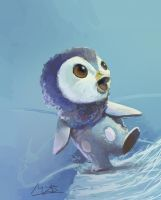 Piplup by Theclockworkpainter