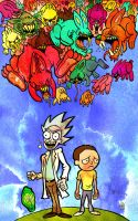 Rick and Morty by Eastforth