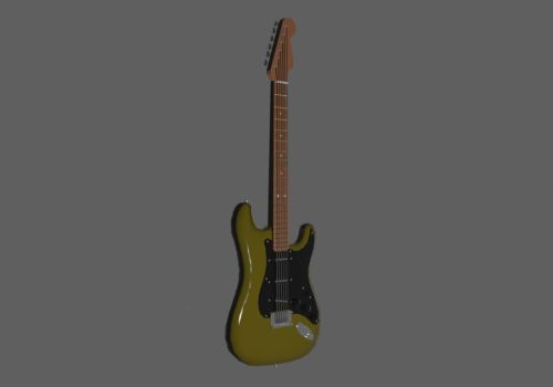 Fender Stratocaster #1 by turnbuckle