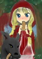 DMT Illust Contest ~ Little Red Riding Hood by Nori8Eleanor