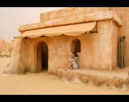 Mos Eisley girl by little-my