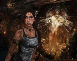 Tomb Raider - Survivor by Halli-well