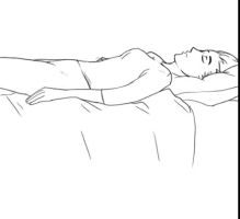 GIF a sleeping girl by palnk