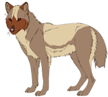 [CLOSED] Wolf Adoptable - 5 points by Gingerpatch-59