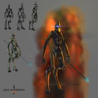 Light Runner by jakeandersonstudio