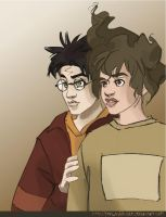 Harry and Hermione I by periwinkle-blue