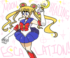 sailor moon by Colress