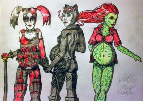 Gotham Knocked Up Sirens by JAM4077