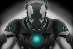 Ironman x Batman, Stark x Wayne by TheMPXY