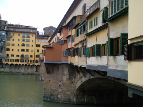 Ponte Vecchio Florence by onnipotente