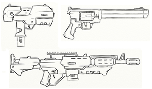 Gun Concepts III by JxAir