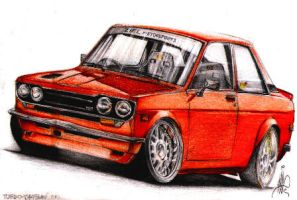 Datsun 510 by two6