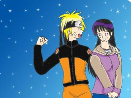 naruhina v-day picture by BTfan