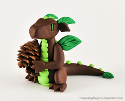 Forest Dragon by HowManyDragons