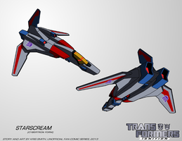 TF:Ignition - Starscream (Cyb. Alt Mode) by KrisSmithDW