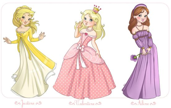 Little princesses 2 by Chpi