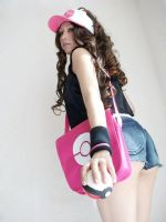 White - Touko Pokemon by Zettai-Cosplay