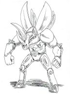 Rhino Beetle by GarthTheDestroyer