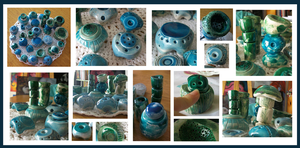 Ceramic things by laurart
