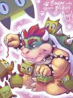 MRP Trade - Bowser + Blitties by Lollergator