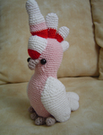 Amigurumi - Cacatua (cockatoo) by LadyMintLeaf
