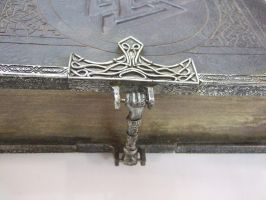 Book Of Shadows detail....clasp by Michael-Day