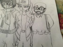Marcel, Leroy, and jonny by Motherdirectioner