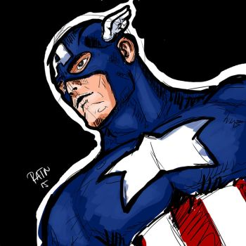 Captain America by ratnou