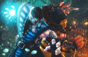 Mortal Kombat X by LordWilhelm