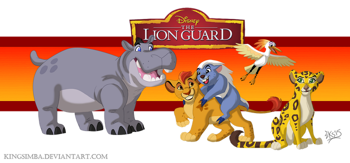 The Lion Guard by KingSimba