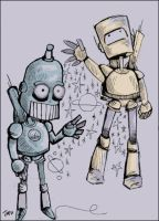 robots by forstarvingeyes