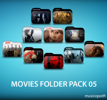 Movie Folders Pack-05 by musicopath