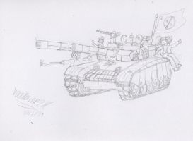 NH and SS- Type 99 Tank by VoltsPower2K