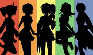 Vocaloid Rainbow by SweetxSnowxDream