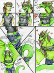 Jade TFTG Scribble comic by KaitoFletcher by ManicMindsStudio